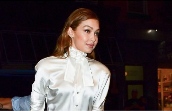Gigi Hadid Wore a Bridal Dress to a Book Party, and Cue the Slow Clap