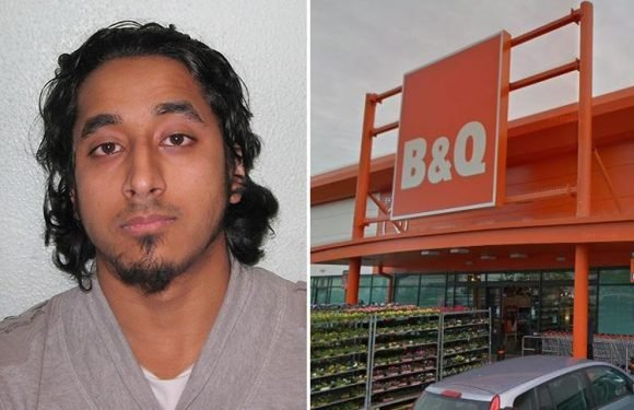 Convicted terrorist jailed after he collected DIY bomb manuals gets job at B&Q after swapping first and last name