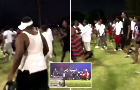 Texas shooting sees pregnant woman among five shot at Dallas American Football game before medics perform C-section to save baby