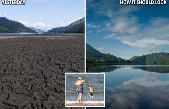 UK weather sparks DROUGHT fears as reservoirs dry up and three-month heatwave with 33C World Cup forecast