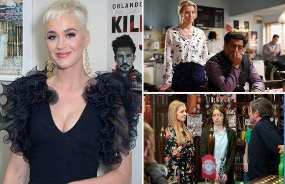Katy Perry reveals she's obsessed with Coronation Street and EastEnders – and loves eating beans on toast when she's in the UK