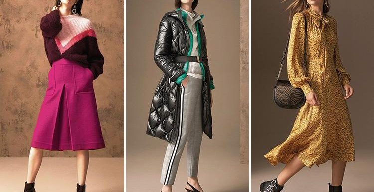 Sneak peak at M&S autumn collection where the high street favourite goes back to basics