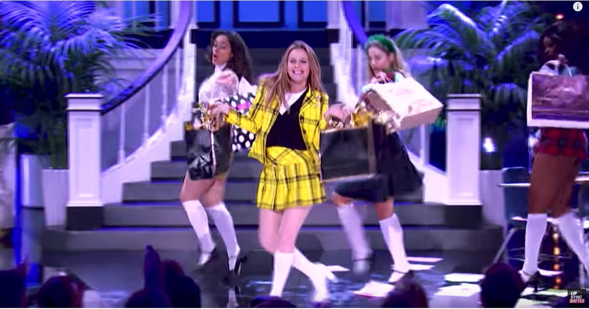 Alicia Silverstone Crushes Her Clueless Themed Lip Sync Battle