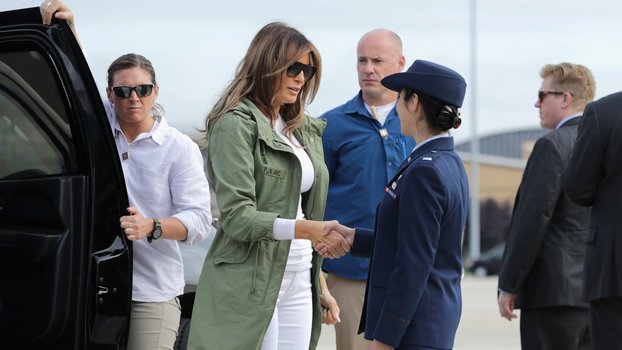 """Melania Trump Breaks Her Silence After """"I Really Don't Care"""" Jacket Scandal"""