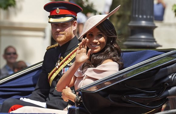 Harry and Meghan turn out for Trooping the Color ceremony