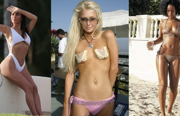 The Craziest Celebrity Swimsuits Through the Years