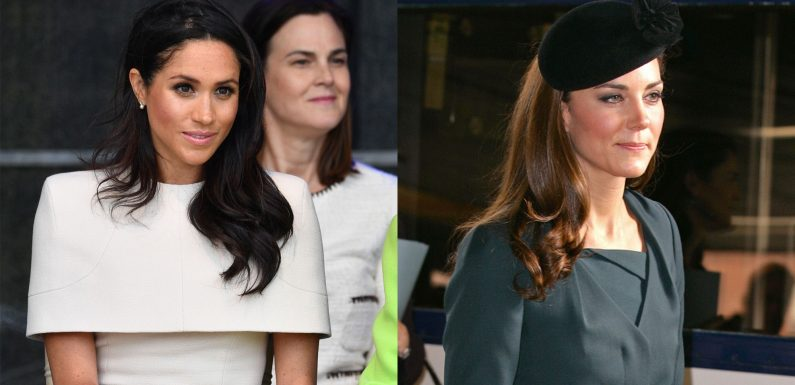 Meghan Markle's First Solo Outing With the Queen Compared to Kate Middleton's