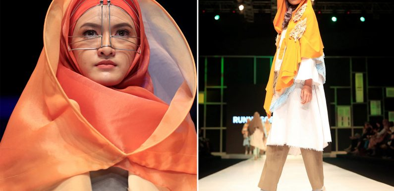Indonesia's first Islamic fashion school teaches modest design