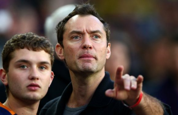 Jude Law's son could be his twin