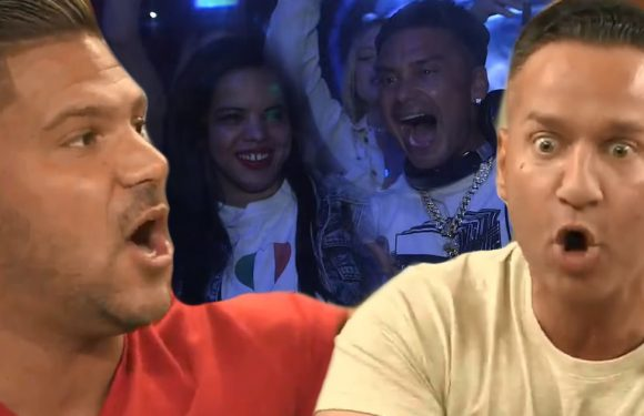 'Jersey Shore' Tea-Shirt Time: Ronnie Nearly Strangles Mike, Pauly's Stalker Pays Him a Visit