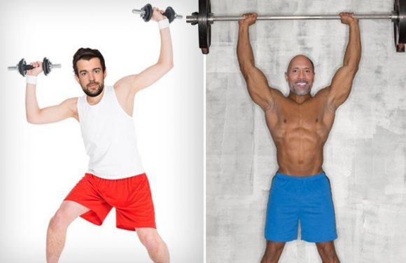 Comedian Jack Whitehall dislocates his rib while training with The Rock in Hawaii