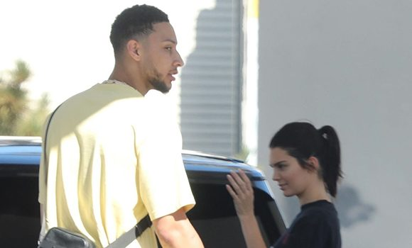 Kendall Jenner Sneaks A Kiss With Ben Simmons As They Reunite In LA — See Sweet Pics