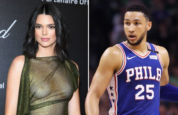 Kendall Jenner and Ben Simmons spotted grocery shopping