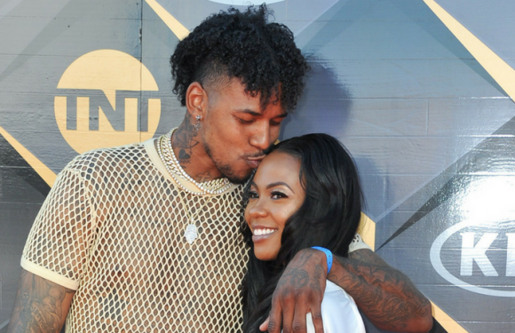 Nick Young Steps Out With On-Again Girlfriend Keonna Green