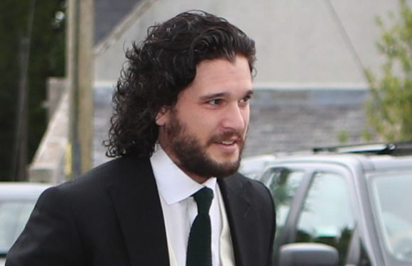 Kit Harington Just Arrived at the Church for His Wedding to Rose Leslie