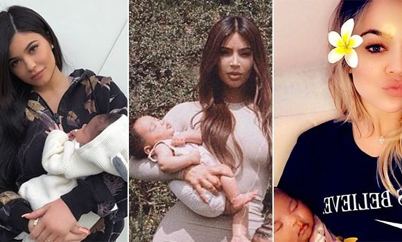 Kim Kardashian & Kylie Jenner Planning Epic Photoshoots With Khloe & True Now That Everyone's In LA