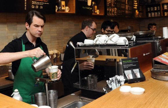 CNN uses footage of Jimmy Carr working at Starbucks for report on racism