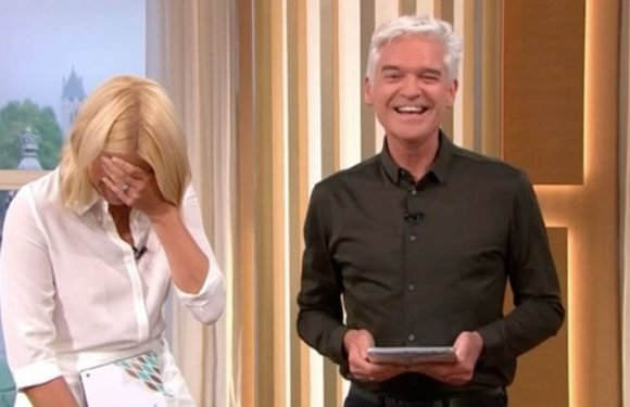 This Morning's Holly Willoughby caught out having private vagina chat live on TV
