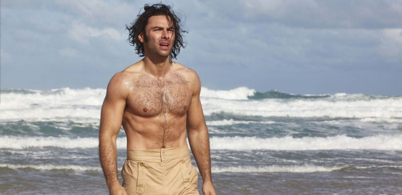 Poldark's Aidan Turner responds to claims he's objectified over shirtless pictures – and admits there's double standards