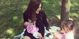 Coronation Street star Helen Flanagan breastfeeds newborn daughter in sweet family pictures