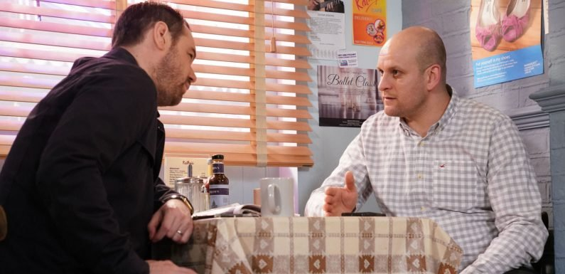EastEnders' Mick Carter faces another big drama with Stuart Highway tonight