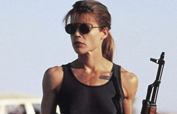 61-Year-Old Linda Hamilton Looks More Badass Than Ever as Sarah Connor on 'Terminator' Sequel Set