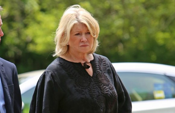 Martha Stewart delivers eulogy at builder to the stars' memorial