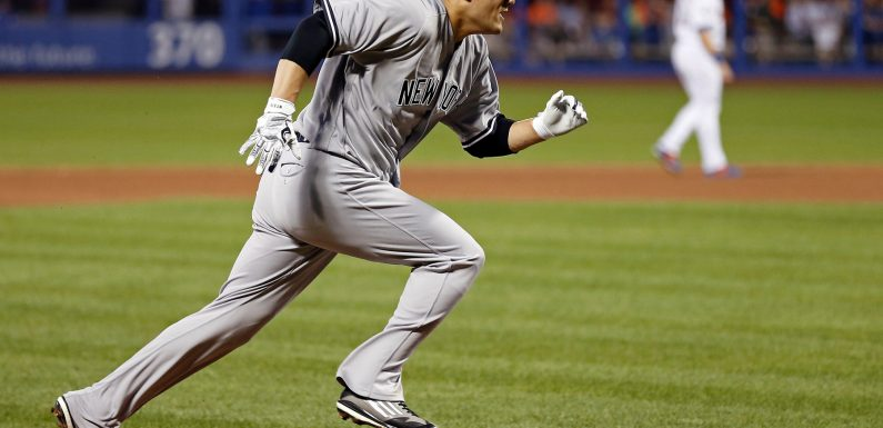 Masahiro Tanaka exits early with apparent injury on play at plate