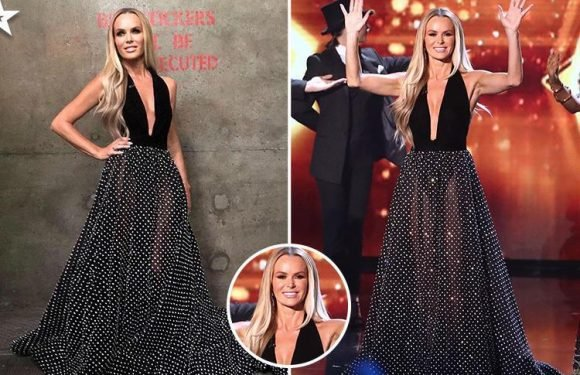 Britain's Got Talent 2018: Amanda Holden leaves viewers hot under the collar as she wears ANOTHER see-through dress for the final