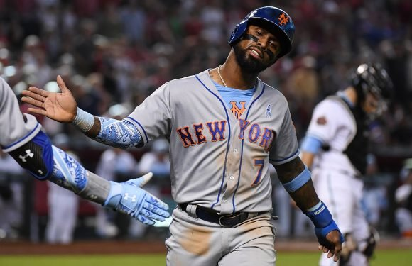 Jose Reyes looked like his old self again for this one night