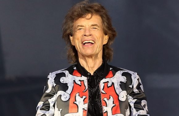 Mick Jagger is taking his 1-year-old on tour