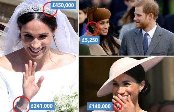Meghan Markle's jewellery collection is now worth £1MILLION… we take a look at some of her finest pieces