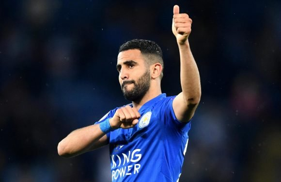 Man City hold Riyad Mahrez talks with Leicester as Pep Guardiola pushes to finally land £60m winger