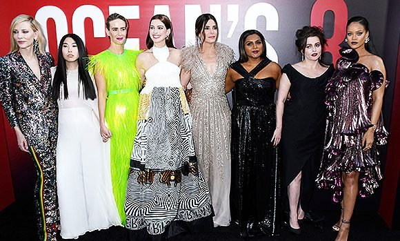 All The Most Fabulous Outfits From The 'Ocean's 8' Premieres — Photos