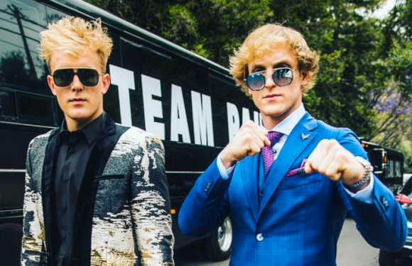 Logan Paul And KSI Almost Come To Blows In Heated Press Conference To Promote Upcoming Boxing Match