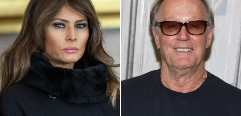 Melania Trump's Office Reported Peter Fonda to Secret Service for Vulgar Tweet About Son Barron
