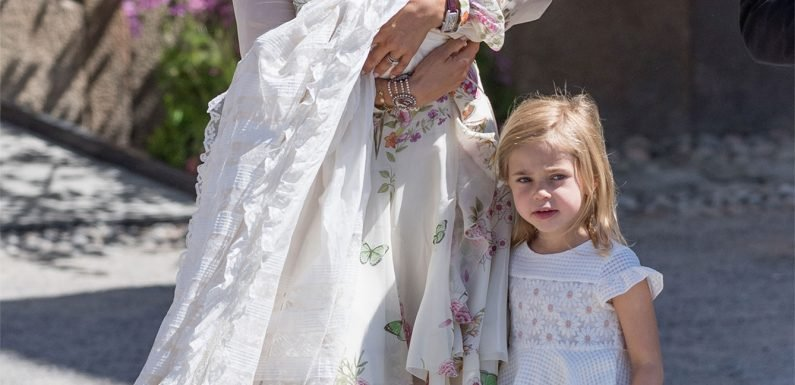 See How Princess Leonore, 4, Shakes Things Up When She Gets Bored at Her Sister's Christening