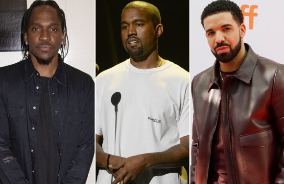Kanye West plays peacemaker in Drake-Pusha T beef