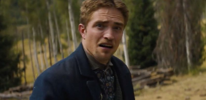 Robert Pattinson Is Unrecognizable with Fake Teeth and a Southern Accent in Scene from Damsel