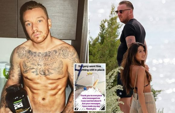 Jamie O'Hara has liposuction after struggling 'with self-esteem and body issues'
