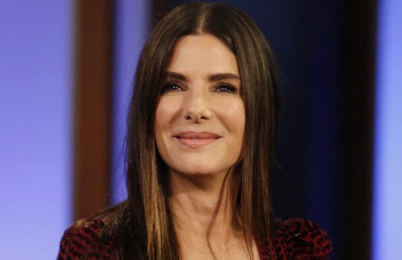 Sandra Bullock Teaches Jimmy Kimmel Dirty German and Dishes on Being a Clueless Cheerleader