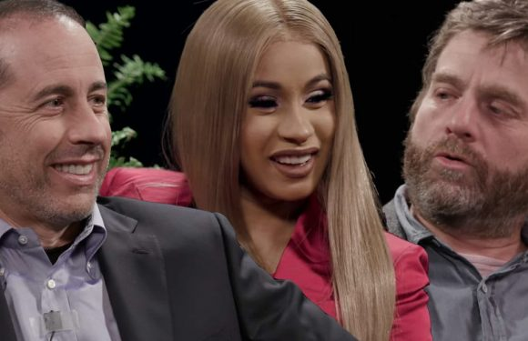 Cardi B and Zach Galifianakis Mercilessly Insult Jerry Seinfeld As 'Between Two Ferns' Returns
