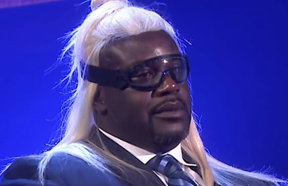 Foul Shot! Shaquille O'Neal Blasted in the Face During 'Blow Your Mind' Game with Jimmy Fallon
