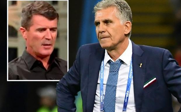 Manchester United legend Roy Keane regrets 'not ripping Carlos Queiroz's head off' after the pair fell out