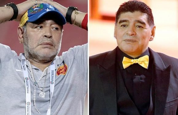 Diego Maradona rushed to hospital ahead of World Cup analyst duty and 'facing knee surgery'