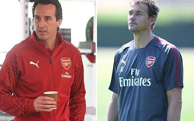 Jens Lehmann leaves role as Arsenal coach as boss Unai Emery continues backroom shake-up