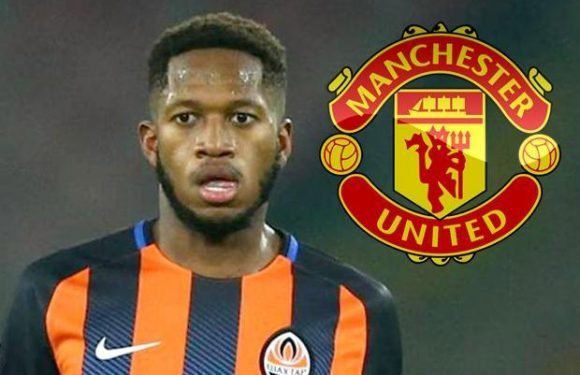 Manchester United reach agreement with Shakhtar Donetsk regarding Fred transfer on a five-year deal