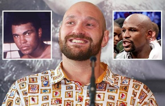 Tyson Fury insists he is best heavyweight ever and has Muhammad Ali and Floyd Mayweather's confidence rolled into one