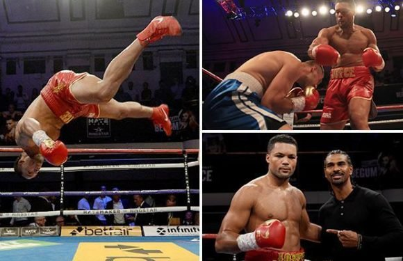 Joe Joyce beats heavyweight opponent without landing a punch as he chases Hughie Fury fight
