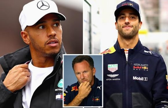 Formula 1: Lewis Hamilton's boss told to sort out Brit star's contract by Christian Horner — so he can get Daniel Ricciardo's Red Bull future in the bag